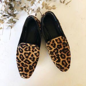 Franco Sarto Leopard Calf Hair sz 9 ✨